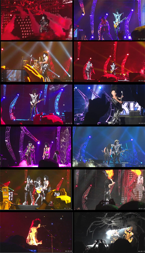 budokan first night 2013 screens