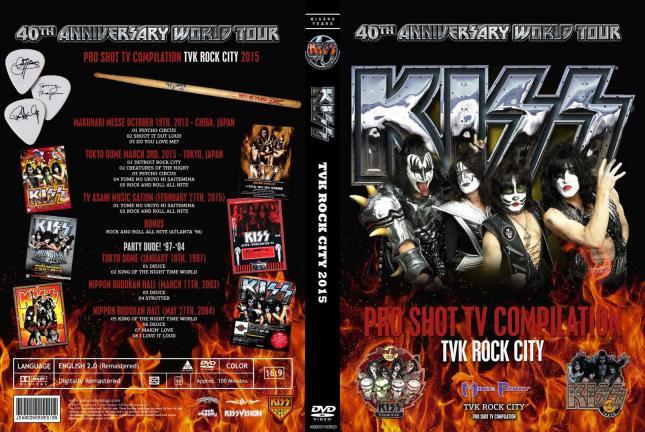 Kiss - TVK Rock City 2015
